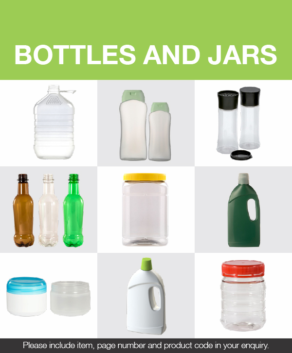 Bottles and jars catalogue [photo]