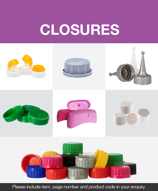 Closures catalogue [photo]